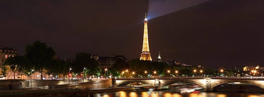 River Cruise Viking Line Paris evening