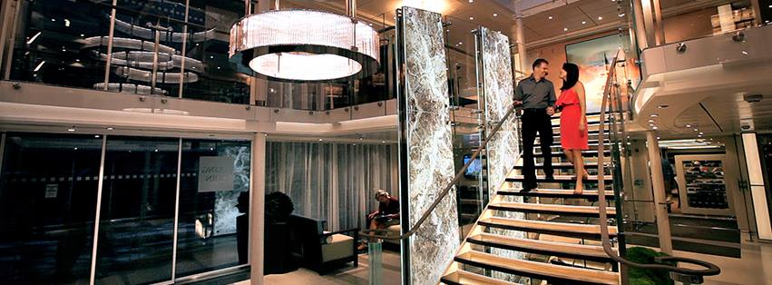 River Cruise Viking Line Staircase