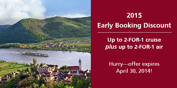Viking River Cruise special end 30Apr